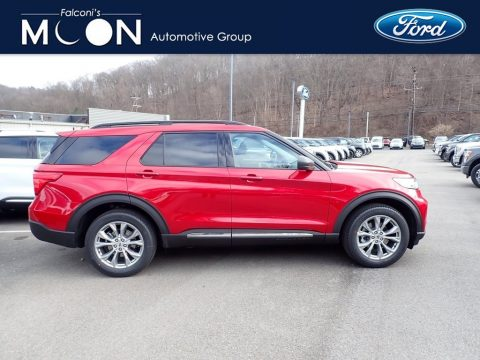 Rapid Red Metallic Ford Explorer XLT 4WD.  Click to enlarge.