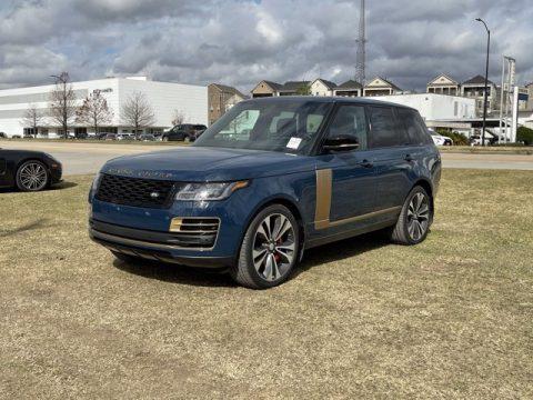 Premium Palette Blue Land Rover Range Rover SV Autobiography Dynamic.  Click to enlarge.