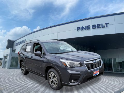 Magnetite Gray Metallic Subaru Forester 2.5i Premium.  Click to enlarge.