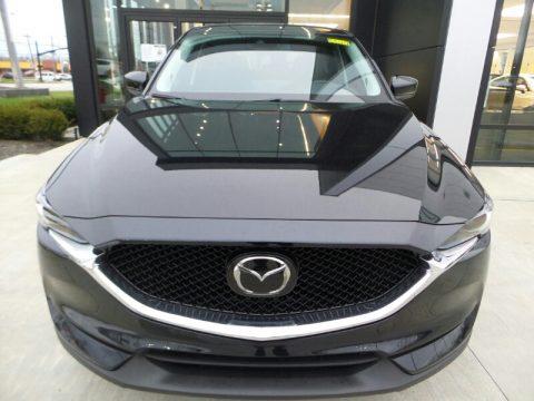 Jet Black Mica Mazda CX-5 Grand Touring AWD.  Click to enlarge.