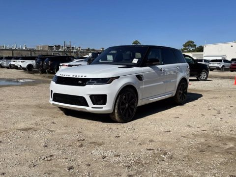 Fuji White Land Rover Range Rover Sport HST.  Click to enlarge.
