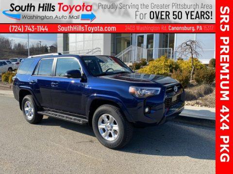 Nautical Blue Metallic Toyota 4Runner SR5 Premium 4x4.  Click to enlarge.