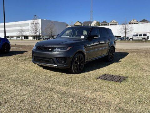 Carpathian Gray Metallic Land Rover Range Rover Sport HST.  Click to enlarge.