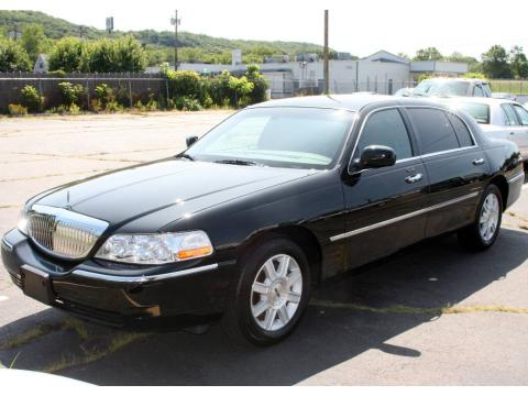 used 2008 lincoln town car executive l for sale stock 1050a dealer car ad. Black Bedroom Furniture Sets. Home Design Ideas