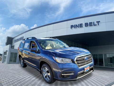 Abyss Blue Pearl Subaru Ascent Touring.  Click to enlarge.
