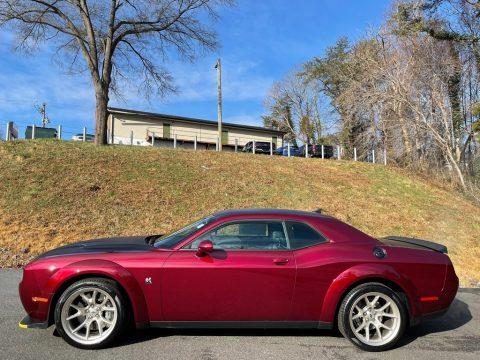 Octane Red Dodge Challenger R/T Scat Pack Widebody.  Click to enlarge.
