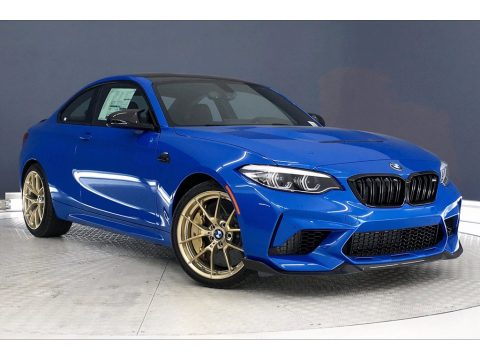 Misano Blue Metallic BMW M2 Competition Coupe.  Click to enlarge.