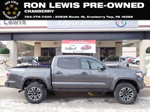 Magnetic Gray Metallic Toyota Tacoma TRD Sport Double Cab 4x4.  Click to enlarge.