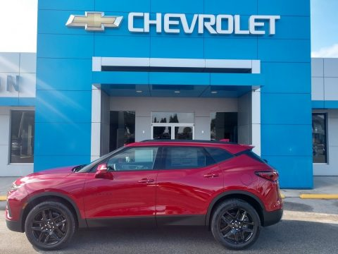 Cherry Red Tintcoat Chevrolet Blazer LT.  Click to enlarge.