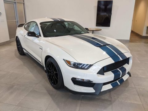 Oxford White Ford Mustang Shelby GT350.  Click to enlarge.