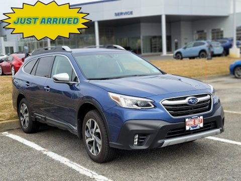 Abyss Blue Pearl Subaru Outback 2.5i Touring.  Click to enlarge.