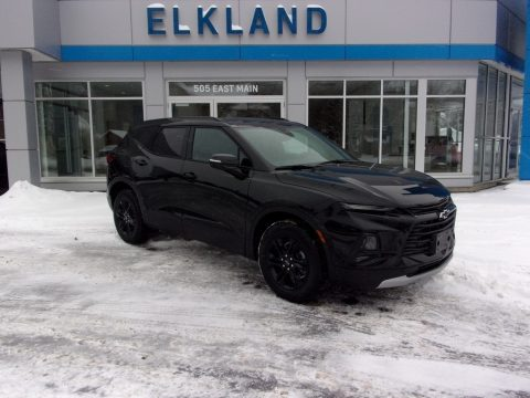 Black Chevrolet Blazer LT AWD.  Click to enlarge.