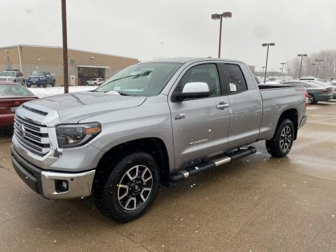 Silver Sky Metallic Toyota Tundra Limited Double Cab 4x4.  Click to enlarge.