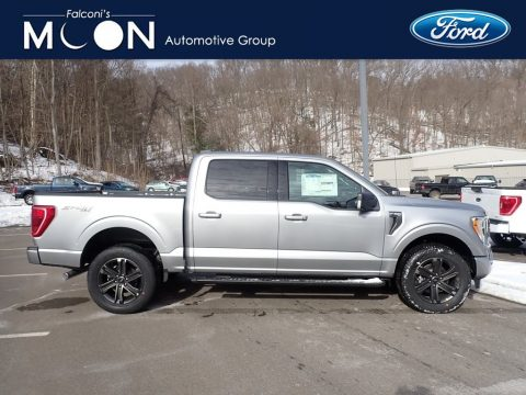 Iconic Silver Ford F150 XLT SuperCrew 4x4.  Click to enlarge.