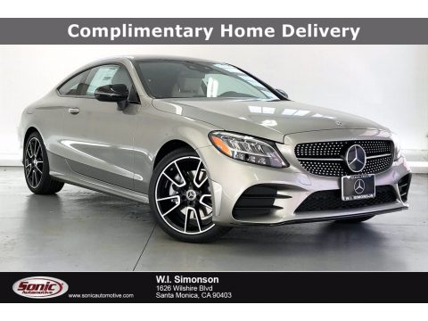 Mojave Silver Metallic Mercedes-Benz C 300 Coupe.  Click to enlarge.