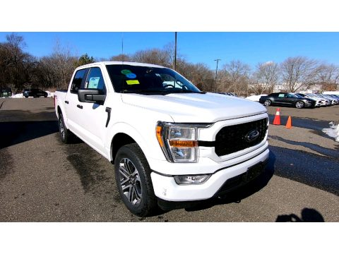 Oxford White Ford F150 STX SuperCrew 4x4.  Click to enlarge.