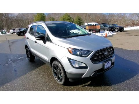 Moondust Silver Metallic Ford EcoSport SES 4WD.  Click to enlarge.