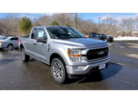 Iconic Silver Ford F150 STX SuperCab 4x4.  Click to enlarge.