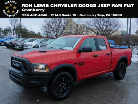 Flame Red Ram 1500 Rebel Quad Cab 4x4.  Click to enlarge.
