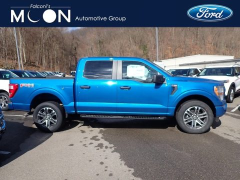 Velocity Blue Ford F150 STX SuperCrew 4x4.  Click to enlarge.