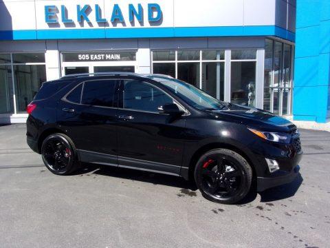 Mosaic Black Metallic Chevrolet Equinox Premier.  Click to enlarge.