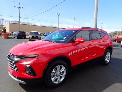Red Hot Chevrolet Blazer LT AWD.  Click to enlarge.
