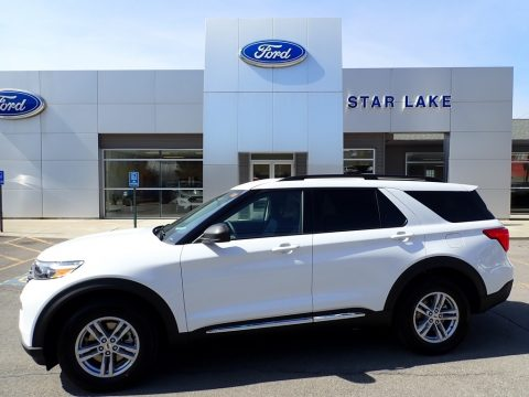 Oxford White Ford Explorer XLT.  Click to enlarge.