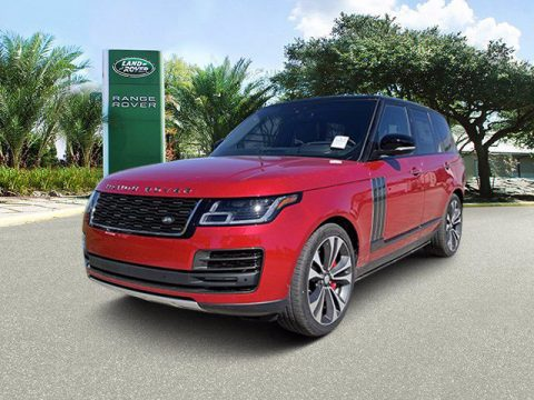 Firenze Red Metallic Land Rover Range Rover SV Autobiography Dynamic.  Click to enlarge.