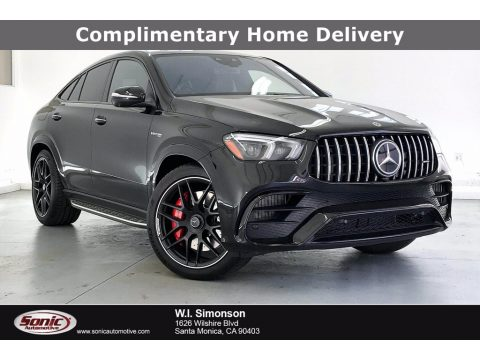 Obsidian Black Metallic Mercedes-Benz GLE 63 S AMG 4Matic Coupe.  Click to enlarge.