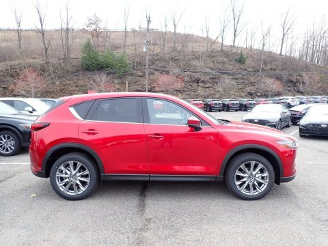 Soul Red Crystal Metallic Mazda CX-5 Grand Touring AWD.  Click to enlarge.