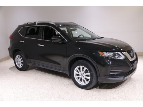 Magnetic Black Nissan Rogue SV AWD.  Click to enlarge.