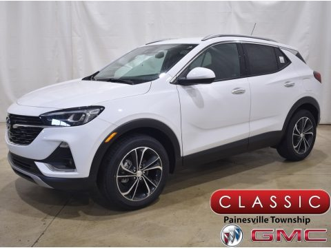 Summit White Buick Encore GX Essence.  Click to enlarge.