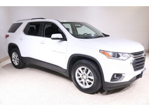 Summit White Chevrolet Traverse LT AWD.  Click to enlarge.