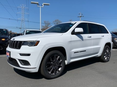 Bright White Jeep Grand Cherokee High Altitude 4x4.  Click to enlarge.