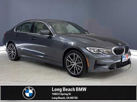 Mineral Gray Metallic BMW 3 Series 330e Sedan.  Click to enlarge.