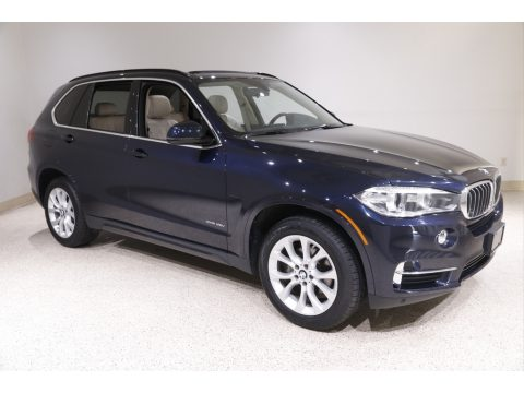 Imperial Blue Metallic BMW X5 xDrive35i.  Click to enlarge.
