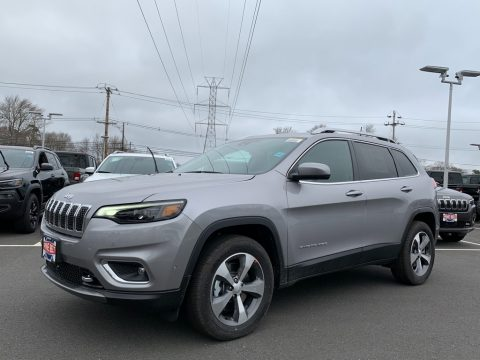 Billet Silver Metallic Jeep Cherokee Limited 4x4.  Click to enlarge.