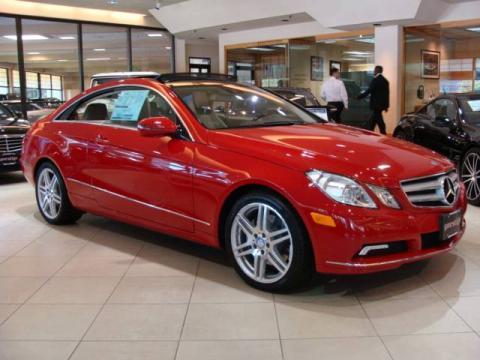 New 2010 mercedes benz e 350 coupe for sale stock for Prestige mercedes benz paramus nj