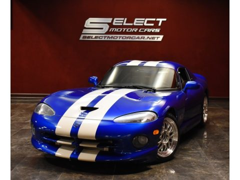 GTS Blue Pearl Dodge Viper GTS.  Click to enlarge.