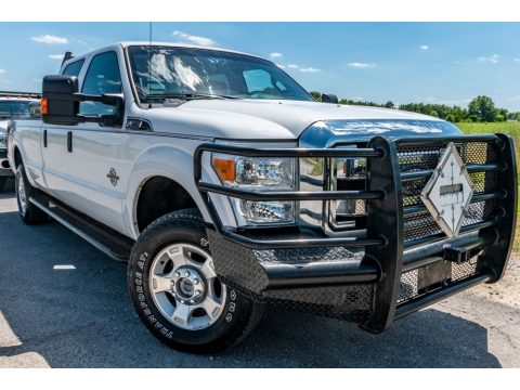 Oxford White Ford F350 Super Duty King Ranch Crew Cab 4x4.  Click to enlarge.