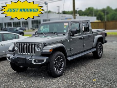Sting-Gray Jeep Gladiator Overland 4x4.  Click to enlarge.