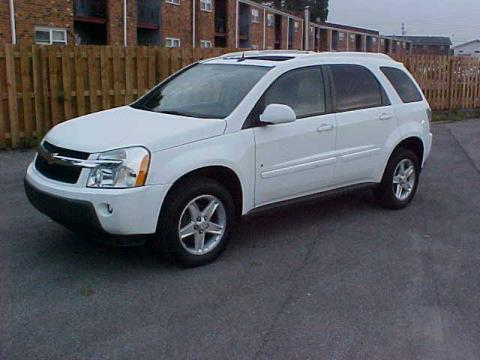 Summit White 2006 Chevrolet Equinox LT AWD with Light Cashmere interior