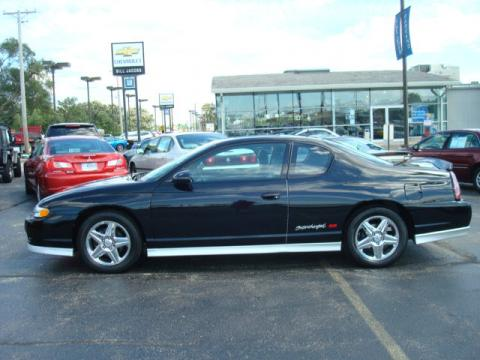used 2005 chevrolet monte carlo supercharged ss for sale stock 25126p. Black Bedroom Furniture Sets. Home Design Ideas
