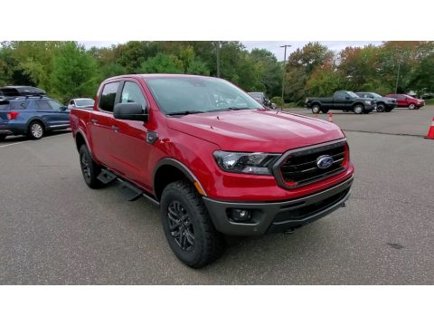 Rapid Red Metallic Ford Ranger XLT Tremor SuperCrew 4x4.  Click to enlarge.