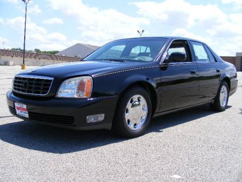 used 2001 cadillac deville dhs sedan for sale stock p135610 dealer car ad. Black Bedroom Furniture Sets. Home Design Ideas