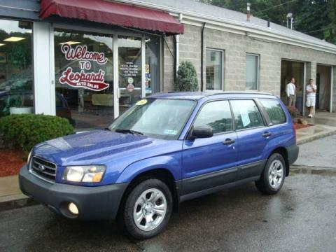 Used Subaru Pittsburgh >> Used 2004 Subaru Forester 2.5 X for Sale - Stock #21524 | DealerRevs.com - Dealer Car Ad #14366471