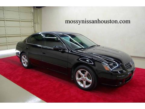 Auto Entertaintment And Lifestyle Nissan Altima 2006 Black