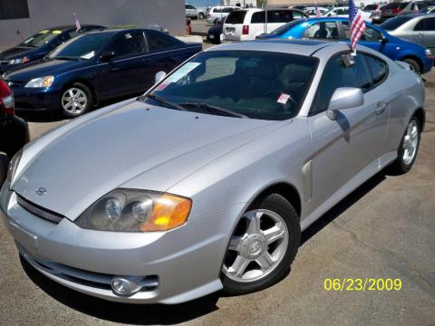 Hyundai Of Yuma >> Used 2003 Hyundai Tiburon GT V6 for Sale - Stock #27410 ...