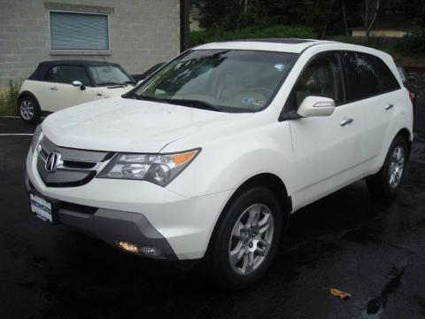 Acura  2009 on Free Amazing Hd Wallpapers  Acura Mdx 2009 White