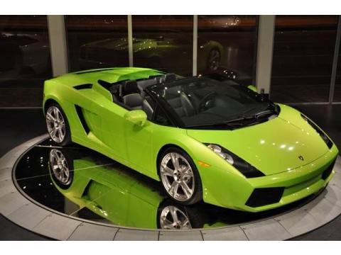 Used 2007 Lamborghini Gallardo Spyder For Sale Stock La05638